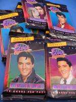 WHOLESALE BOX LOT OF ELVIS PRESLEY COLLECTION TRADING CARDS 1992 art