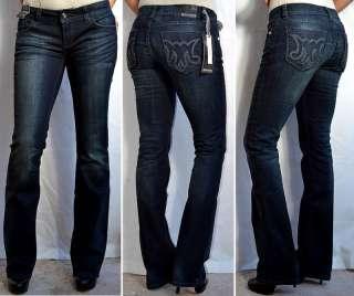 MEK Denim Womens MARRAKECH Jeans Slim Boot Cut   31