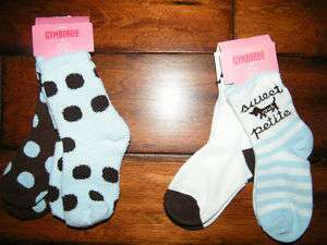 NWT Gymboree GIRLS BEST FRIEND Socks 6 12 12 24 2T 3T