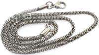 SOLID STAINLESS STEEL SILVER TONE MESH MENS PENDANT NECKLACE CHAIN