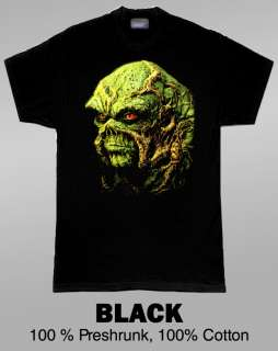 Swamp Thing Classic Comic Superhero T Shirt Black