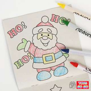 Coloring Activity Book Set include ONE Activity Set and 4 Crayons