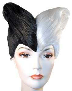 CRUELLA X LARGE HALLOWEEN COSTUME WIG LY