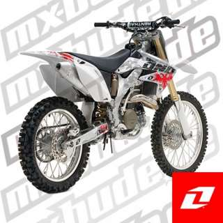 Dekor Kit Camo weiss   Honda CRF 450 BJ. 07   Kit ho460 ca wh