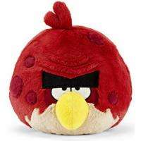 Official Angry Birds 5 Plush Red Bird BIG BRO BROTHER w/Sound by