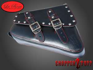 2012 Harley Davidson Sportster Fourty Eight Solo Saddle Bag Black W