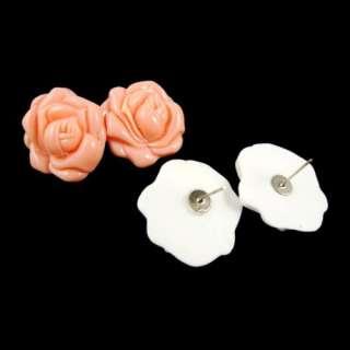 Beautiful Cute Rose Design Earring For Lady Girl