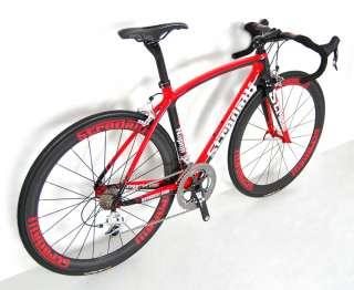 SRAM RED BLACK FULL CARBON ROAD BIKE RACE BICYCLE BB30 LG