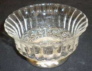 CRYSTAL & SILVER PLATED CANDY DISH BOWL INDONESIA MADE