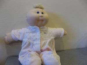 preemie cabbage patch kids doll blue eyes original clothes 1978 82