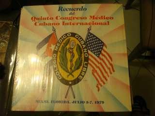 RECUERDO DEL QUINTO CONGRESO MEDICO CUBANO INTERNACIONAL JULIO 3 7