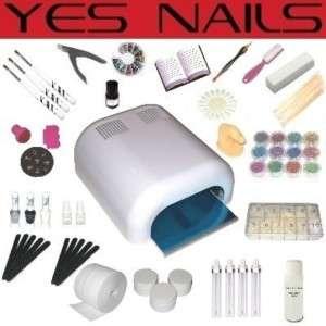 UV Gel MEGA Set, 4 Röhren Gerät, Nails, Nagelstudio, w#