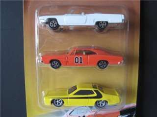 THE DUKES OF HAZZARD COUNTY 9 car set ERTL 164 scale General Lee Boss