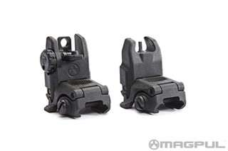 Magpul MBUS Backup Sight Set (Black) (GEN 2) MGBUISDE 0873750004358