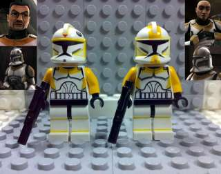 Lego Star Wars Clone Trooper  Waxer & Boil  Custom