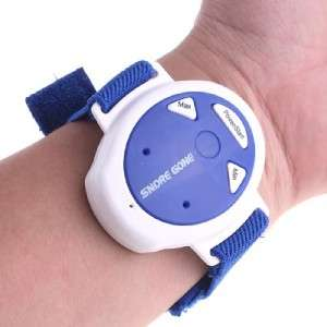 Snore Gone Stop Snoring Anti Snoring Wristband Watch |