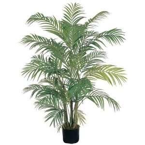 4 Ft Areca Silk Palm Tree: Home & Kitchen