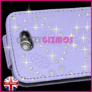 DIAMOND BLING GLITTER CRYSTAL GEM CASE COVER FOR SAMSUNG GALAXY W