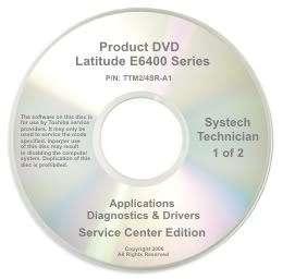 Dell Latitude E6400 Repair Restore Recovery CD DVD