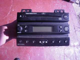 FORD FIESTA MK6 CD PLAYER WITH CODE 2002 2005 |