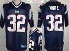 Maillot nfl Foot US américain PATRIOTS N°32 WHITE 2XL