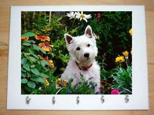 west highland terrier westie key hanger by colglyn