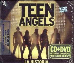 CD + DVD + LIBRO TEEN ANGELS LA HISTORIA CASI ANGELES