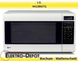 LG Mikrowelle MG3847G, weiß, 18 Liter, Elektro Depot, *BOCHUM