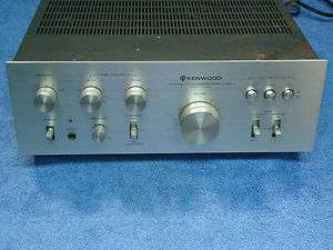 KENWOOD KA 3500 INTEGRATED STEREO AMPLIFIER