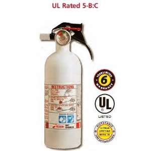 Mariner 5 B:C Disposable Fire Extinguisher (KIDDE): Home Improvement