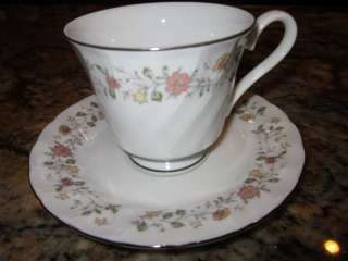SHEFFIELD BOUQUET FINE PORCELAIN CHINA CUP SAUCER JAPAN