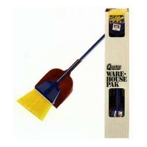 Quickie 1700 409 Angle Broom with Pan   Pack of 12 Home