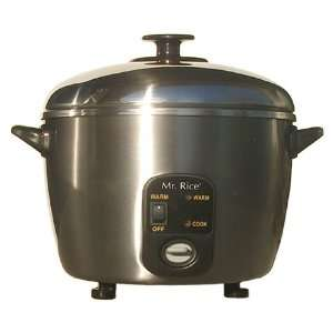 Sunpentown Stainless Steel Cooker and Steamer 10 Cup