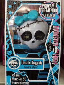 MONSTER HIGH TESCHIO VEGGENTE FRANKIE STEIN 092 W1968