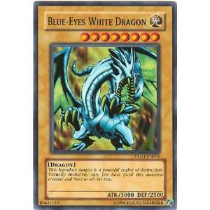 Blue Eyes White Dragon DLG1 EN002 Super Rare [Toy] Toys & Games