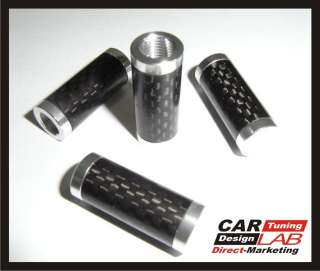 Carbon Fiber Car Wheel Tire Valve Stem Caps Dust Cap 4p