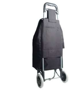 24 Shopping Trolley, Shopper on Wheels Black