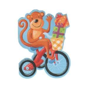 Monkey on Bike Gift Enclosure Card Gift Cards
