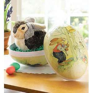 Steiff Big as a Basket Easter Egg and Big Steiff® Rabbit