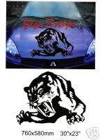 TIGER CAR ROOF/BONNET DECALS GRAPHICS STICKER 316