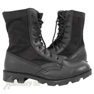 US ARMY COMBAT ASSAULT VIETNAM JUNGLE BOOTS MENS SECURITY CADET BLACK