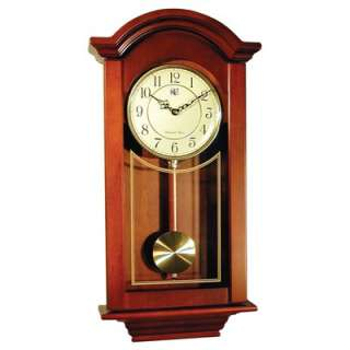 River City Clocks Regulator Wall Clock in Cherry  Wayfair