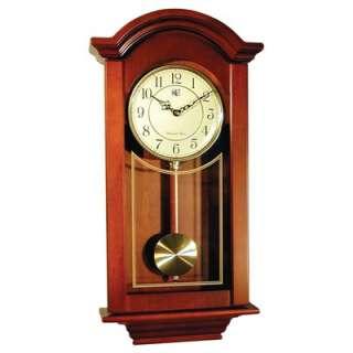 River City Clocks Regulator Wall Clock in Cherry  Wayfair