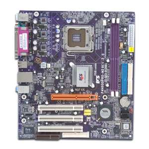 ECS P4M800PRO M2 (2.0) Via Socket 775 MicroATX Motherboard / Audio