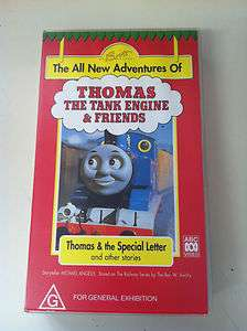 Thomas the Tank Engine   THOMAS & THE SPECIAL LETTER VHS VIDEO PAL