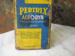 WWII GERMAN WEHRMACHT FIELD PHONE BATTERY – PERTRIX DRP