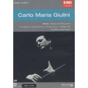 Archives De Concert: Verdi Requiem: Carlo Maria Giulini: Movies & TV
