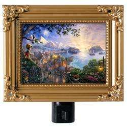 David Textiles Thomas Kinkade Disney Pinocchio Night Light