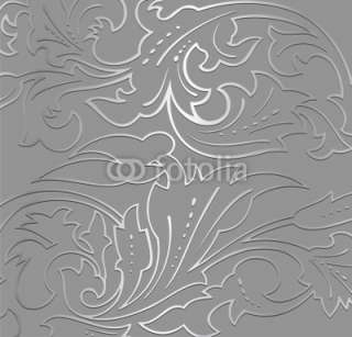 Wallpaper silver floral Background. Vector © emaria #30412005   Ver