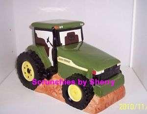 John Deere Tractor Cookies Ceramic Cookie Jar Gibson